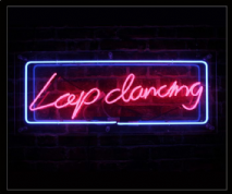 Lapdancing Neon Sign